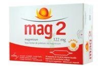 MAG 2 122 mg S buv en ampoule sans sucre édulcoré à la saccharine sodique 30Amp/10ml à Poitiers