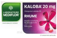 KALOBA 20 mg Comprimé pelliculé Plq/21 à Poitiers