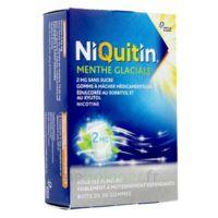 NIQUITIN 2 mg Gom à mâcher médic menthe glaciale sans sucre Plq PVC/PVDC/Alu/30 à Poitiers