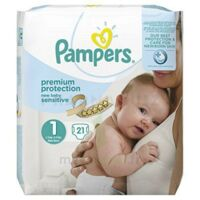 Pampers couches new baby sensitive taille 1 - 21 couches à Poitiers