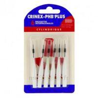 Crinex Phb Plus Brossette Inter-dentaire Cylindrique B/6 à Poitiers