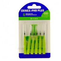 Crinex Phb Plus Brossette Inter-dentaire Micro B/6 à Poitiers