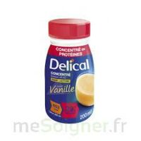 DELICAL BOISSON HP HC CONCENTREE Nutriment vanille 4Bouteilles/200ml à Poitiers