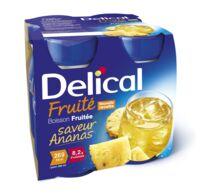 DELICAL BOISSON FRUITEE Nutriment ananas 4Bouteilles/200ml à Poitiers