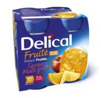 DELICAL BOISSON FRUITEE Nutriment multi fruits 4Bouteilles/200ml à Poitiers