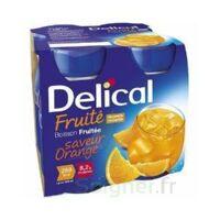 DELICAL BOISSON FRUITEE Nutriment orange 4Bouteilles/200ml à Poitiers