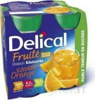 Delical Boisson Fruitee Nutriment édulcoré Orange 4bouteilles/200ml à Poitiers