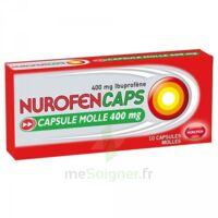 NUROFENCAPS 400 mg Caps molle Plq/10 à Poitiers