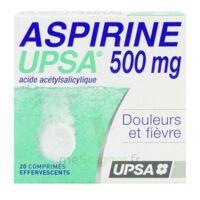 ASPIRINE UPSA 500 mg, comprimé effervescent à Poitiers