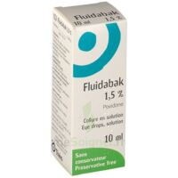 Fluidabak 1,5 %, Collyre En Solution