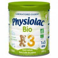 Physiolac Lait Bio 3eme Age 900g à Poitiers