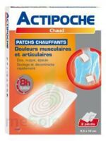 Actipoche Patch chauffant douleurs musculaires B/2 à Poitiers