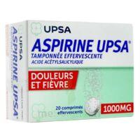 ASPIRINE UPSA TAMPONNEE EFFERVESCENTE 1000 mg, comprimé effervescent à Poitiers
