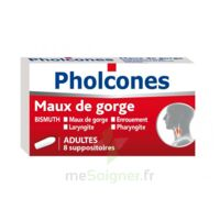 PHOLCONES BISMUTH ADULTES, suppositoire à Poitiers