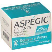 ASPEGIC ENFANTS 250, poudre pour solution buvable en sachet-dose à Poitiers