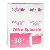 Saforelle Solution soin lavant doux 2*500ml+pochette à Poitiers