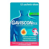 Gavisconell Suspension Buvable Sachet-dose Menthe Sans Sucre 12sach/10ml à Poitiers