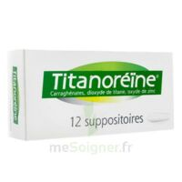 TITANOREINE Suppositoires B/12 à Poitiers
