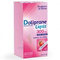 Dolipraneliquiz 300 Mg Suspension Buvable En Sachet Sans Sucre édulcorée Au Maltitol Liquide Et Au Sorbitol B/12 à Poitiers