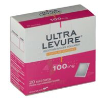 ULTRA-LEVURE 100 mg Poudre pour suspension buvable en sachet B/20 à Poitiers