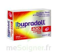IBUPRADOLL 400 mg Caps molle Plq/10 à Poitiers