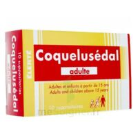 Coquelusedal Adultes, Suppositoire à Poitiers