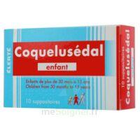 COQUELUSEDAL ENFANTS, suppositoire