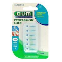 Gum Proxabrush Click, 1,6 Mm, Bleu , Blister 6 à Poitiers