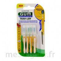 GUM TRAV - LER, 1,3 mm, manche jaune , blister 4 à Poitiers