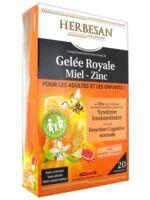 Herbesan Gelée Royale Miel - Zinc dès 4 ans B/20 à Poitiers