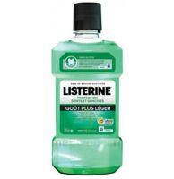Listerine Protection Dents Gencives Bain Bouche Goût Plus Léger Fl/500ml à Poitiers
