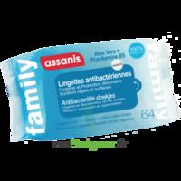 Assanis Family Lingette antibactérien mains Pochette/64 à Poitiers