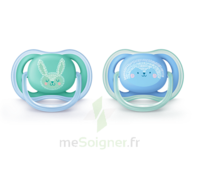 Avent Sucette silicone 6-18 mois Lapin B/2 à Poitiers
