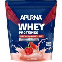 Apurna Whey Proteines Poudre Fraise 750g à Poitiers