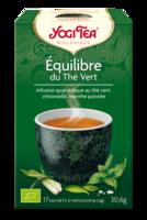 Yogi Tea Thé équilibre Du Thé Vert Bio 17 Sachets