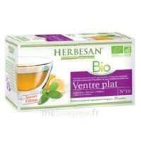 Herbesan Infusion Bio Tisane ventre plat 20 Sachets à Poitiers