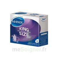 Manix King Size Préservatif avec réservoir lubrifié confort B/3 à Poitiers