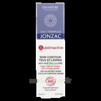 Jonzac Eau Thermale Sublimactive Crème soin contour yeux lèvres jeunesse immédiate 15ml à Poitiers