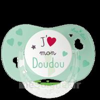 """Luc Et Léa Sucette Physiologique +6mois Spécial Bébé Allaité """"j'aime Mon Doudou"""" à Poitiers"""