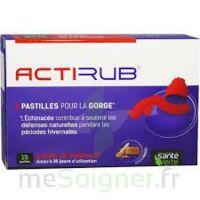 Actirub Pastilles pour la gorge B/15 à Poitiers