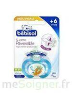 Bebisol Slim - Sucette physiologique silicone jour +6mois bleu T2 à Poitiers