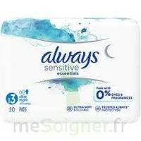 Always Serviettes Sensitives Essentials - Nuit à Poitiers