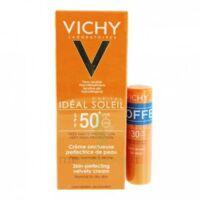 Vichy Idéal Soleil SPF50 Crème onctueuse visage 50ml+Stick SPF30 à Poitiers