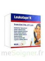 LEUKOTAPE K Sparadrap noir 5cmx5m à Poitiers
