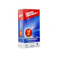 Sortez Couverts Préservatif lubrifié avec réservoir B/12 à Poitiers