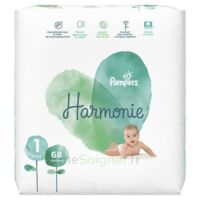 Pampers Harmonie Couche T1 jumbo paquet/68 à Poitiers