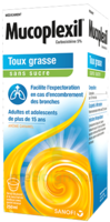 Mucoplexil 5 % Sirop édulcoré à La Saccharine Sodique Sans Sucre Adulte Fl/250ml à Poitiers