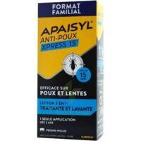 Apaisyl Anti-poux Xpress 15' Lotion antipoux et lente 100ml+peigne à Poitiers