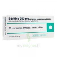 BEVITINE 250 mg Cpr enr Plq/20 à Poitiers