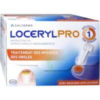 LOCERYLPRO 5 % V ongles médicamenteux Fl/2,5ml+spatule+30 limes+lingettes à Poitiers